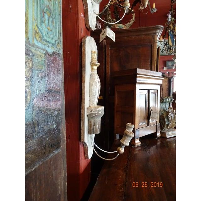 Paint Pair Architectural Sconces For Sale - Image 7 of 9