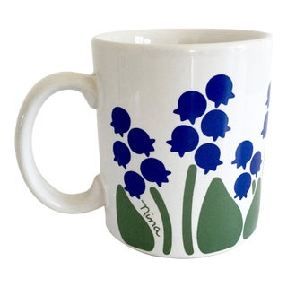 1983 Nina Lily of the Valley Coffee Mug For Sale