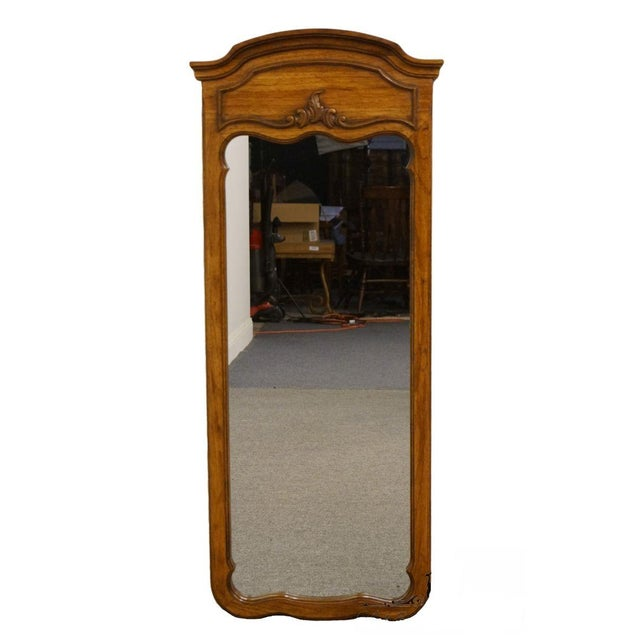 Late 20th Century Vintage Thomasville Furniture Camille Collection Mirror For Sale - Image 11 of 11