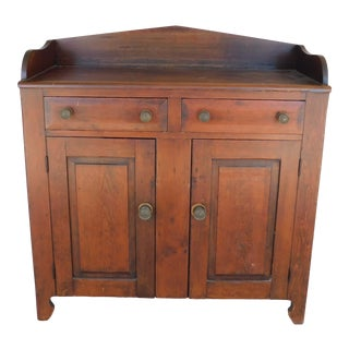 Antique 19th Century Primitive Jelly Cupboard For Sale