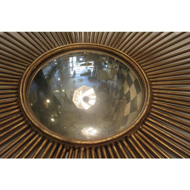 Sunburst Convex Mirror For Sale In New York - Image 6 of 10