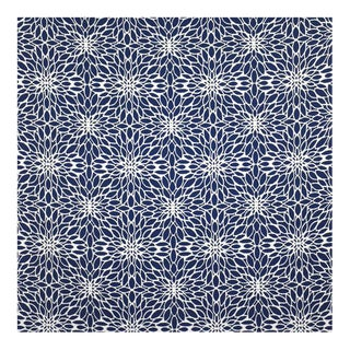 "Sunbrella ""Penelope Indigo"" Indoor/Outdoor Upholstery Fabric by the Yard"
