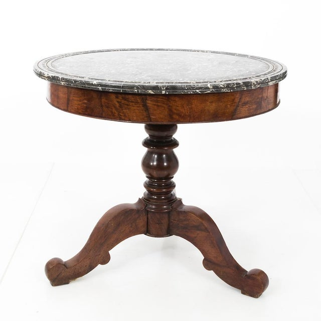 Marble Center Hall Table For Sale - Image 7 of 13