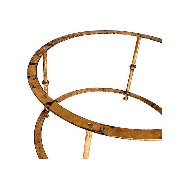 Gilded Bamboo-Style Coffee Table - Image 6 of 8