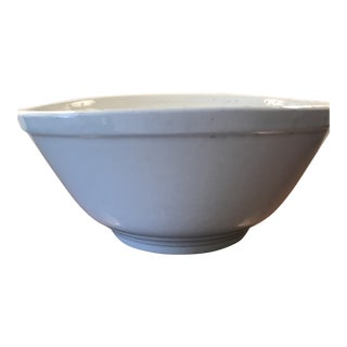 Vintage Handmade Ironstone Bowl For Sale