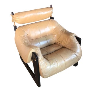 Sergio Rodriguez Style Leather Arm Chair