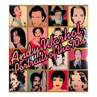 Andy Warhol: Portraits of the 70's Book For Sale