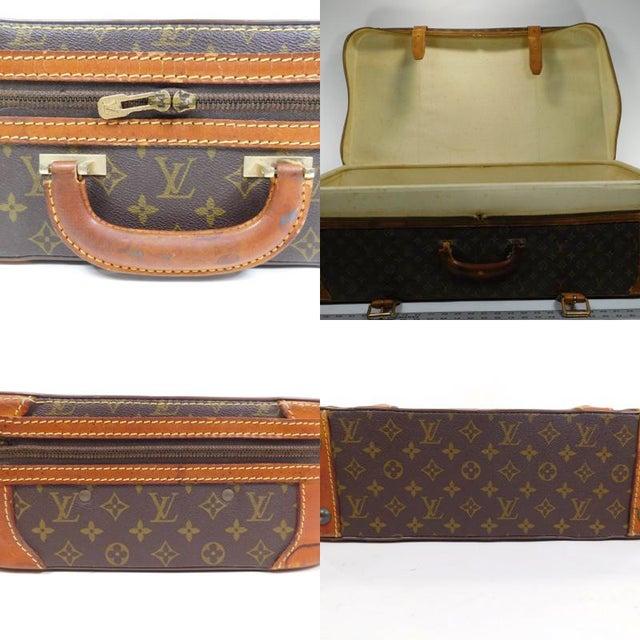 Authentic Vintage Louis Vuitton Suitcases - A Pair - Image 5 of 10