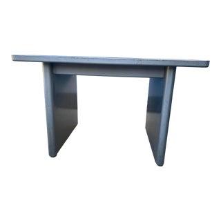 Vintage Steelcase Metal Writing Desk For Sale