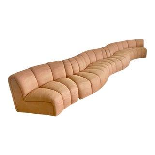 Bernhardt Serpentine Modular Sofa For Sale