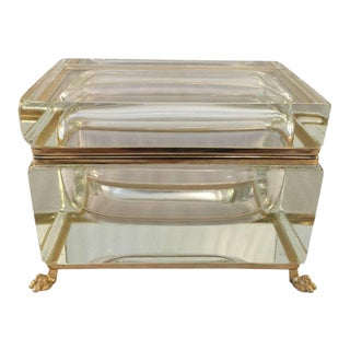 Murano Sommerso Gold-Plated Hinged Box