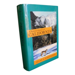 1990s A Natural History of California by Allan Schoenherr - 1st Edition/1st Print For Sale
