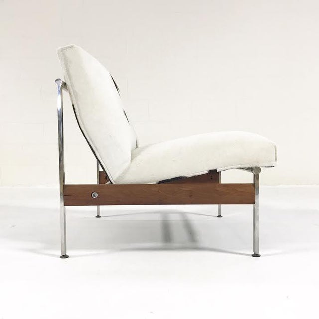 Modern Forsyth One of a Kind Glenn of California Lounge Chair Reupholstered in Brazilian Cowhide For Sale - Image 3 of 7