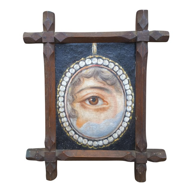 Lovers Eye Painting - Image 1 of 5