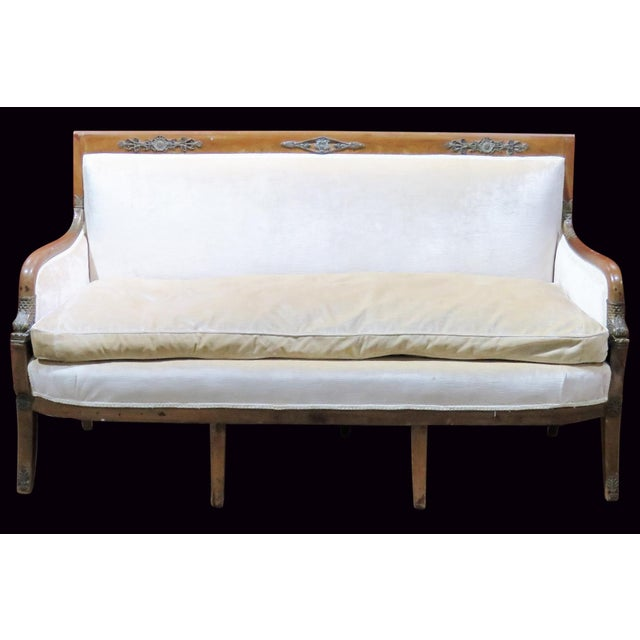 Regency Style Upholstered Sofa - Image 2 of 8