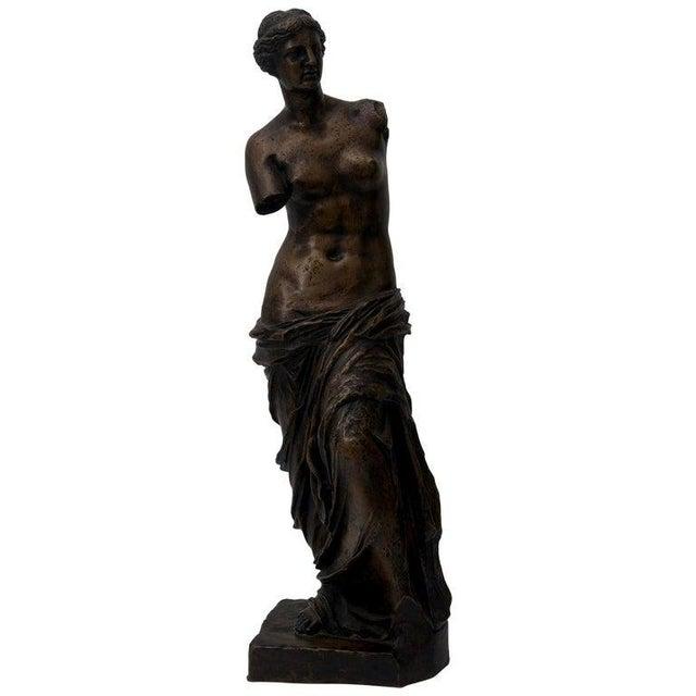 Antique F. Barbedienne Venus De Milo Bronze Sculpture For Sale - Image 11 of 11