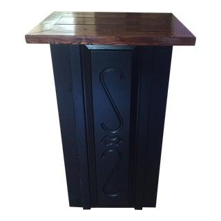 Repurposed Wood Dry Bar