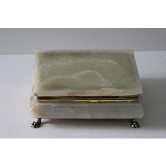 Hinged Onyx Box - Image 6 of 6