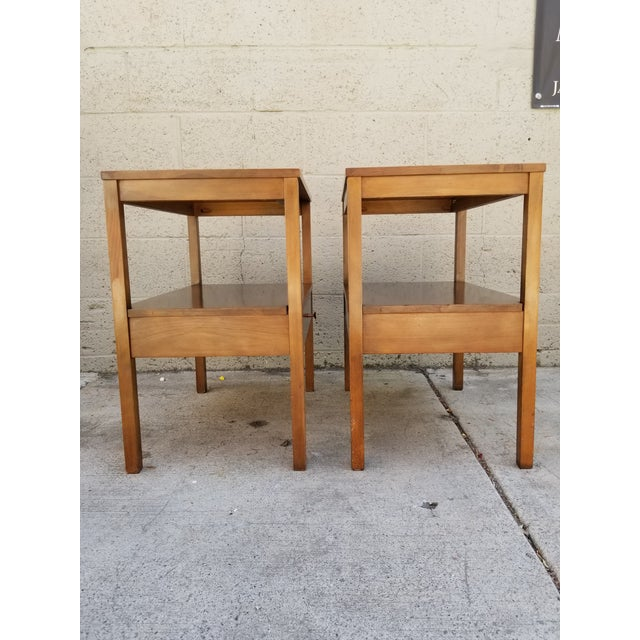 Paul McCobb Side Tables / Nightstands - a Pair For Sale In San Francisco - Image 6 of 8