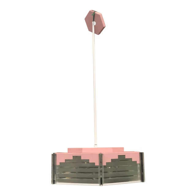 Fredrick Ramond Mid Century Style Hanging Light For Sale