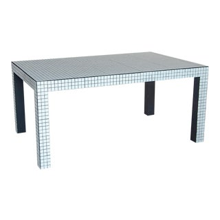 Superstudio ™ / Origin Collection 2020 Dining Table in Ashen White For Sale