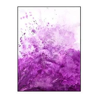 Water & Salt Pink - Framed Giclee Print 3040