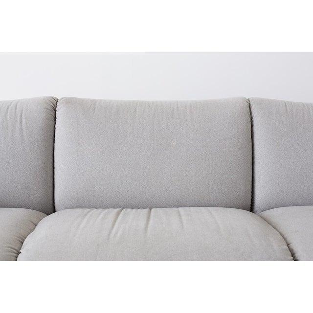 B&B Italia Mario Bellini for Cassina Tentazione Upholstered Sofa For Sale - Image 4 of 13
