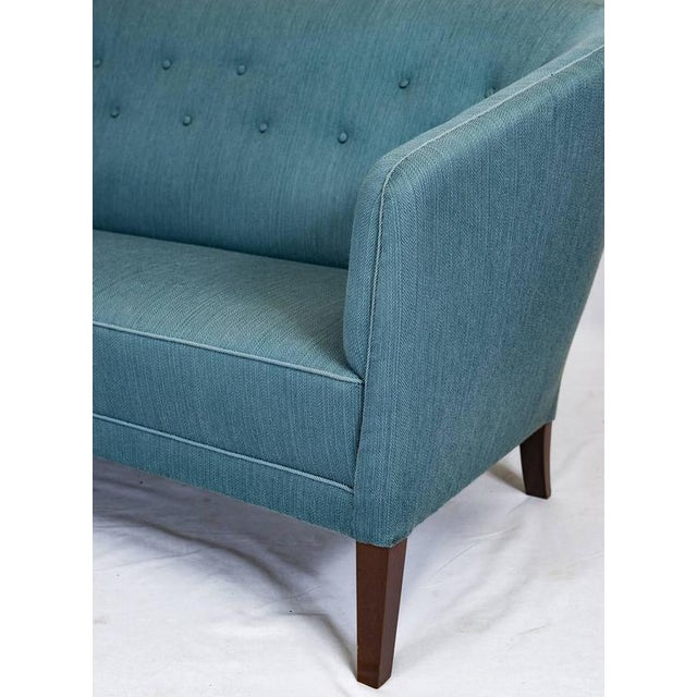 Blue Ludvig Pontoppidan Sofa For Sale - Image 8 of 9