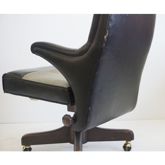 Monteverdi-Young Tufted Office Chair For Sale - Image 5 of 11