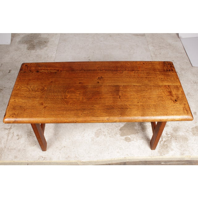 Arts & Crafts-Style Coffee Table - Image 3 of 5