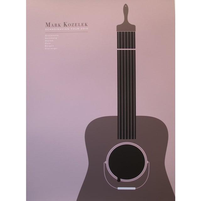 2010 American Concert Poster, Mark Kozelek For Sale