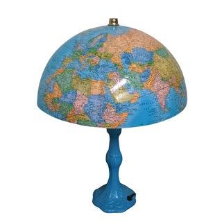 Vintage Globe Lamp For Sale