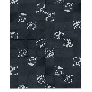 Panel Metal Leathers Rug From Covet Paris For Sale