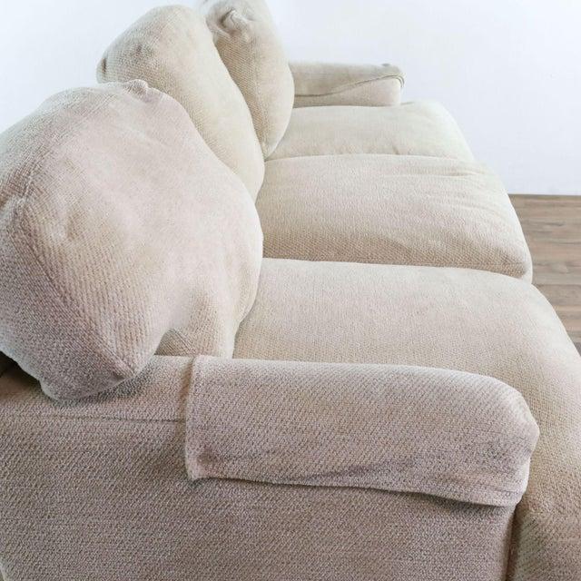 Ivory Henredon Upholstered Ivory Sofa For Sale - Image 8 of 11