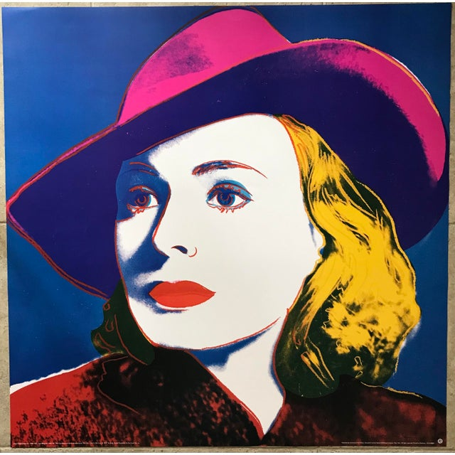 Artist - Andy Warhol Title - Ingrid Bergman: with hat / 1983 Edition - Official Andy Warhol Foundation / Achenbach Art...