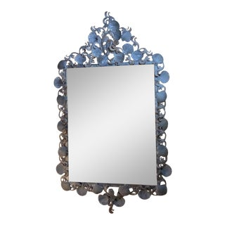 Sea Shell Iron Mirror For Sale