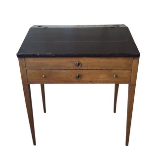 Small Italian Antique Writing Desk For Sale