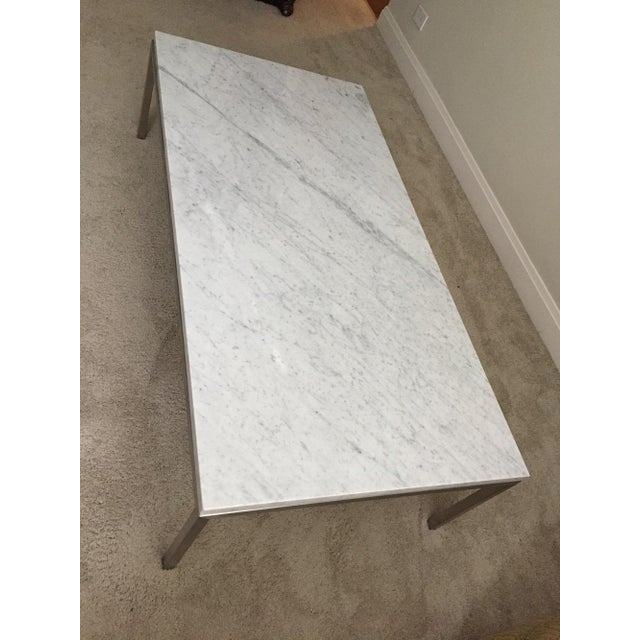 Room & Board Portica Custom Marble Coffee Table - Image 5 of 10