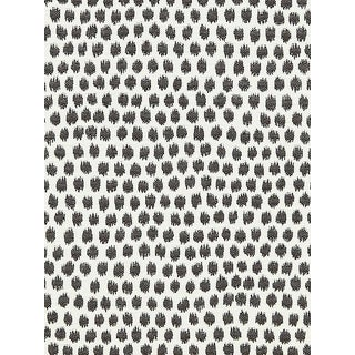 Sample, Scalamandre Dot Weave, Charcoal Fabric For Sale