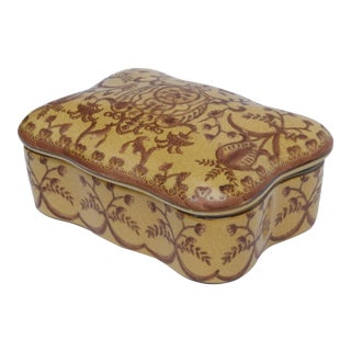 Italian Porcelain Trinket Box