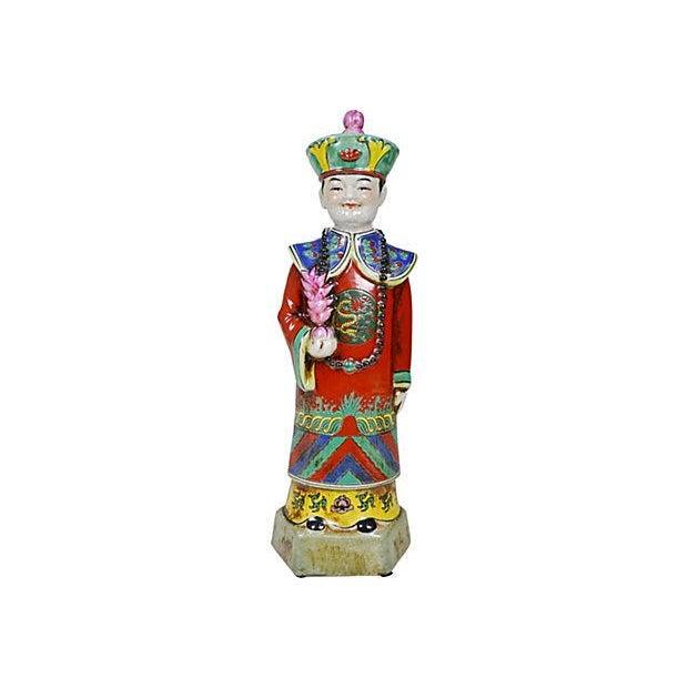 Vintage Chinese Ceramic Couple - Image 4 of 5