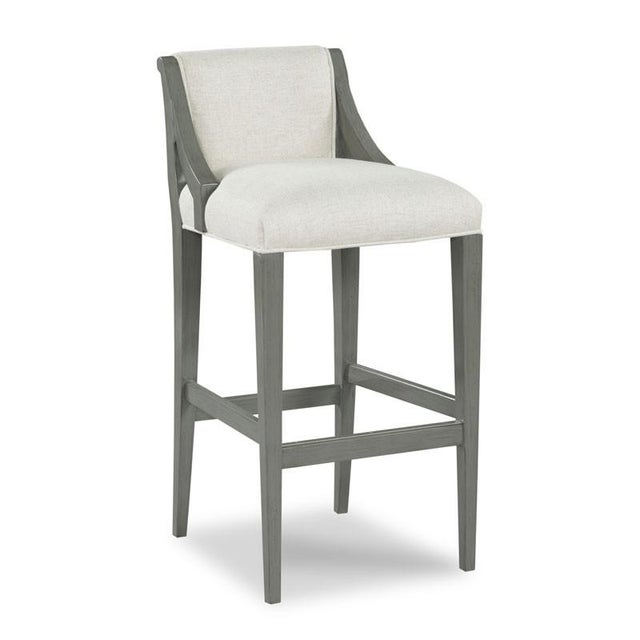 Traditional Modern Evelyn Counter Stool For Sale - Image 3 of 3