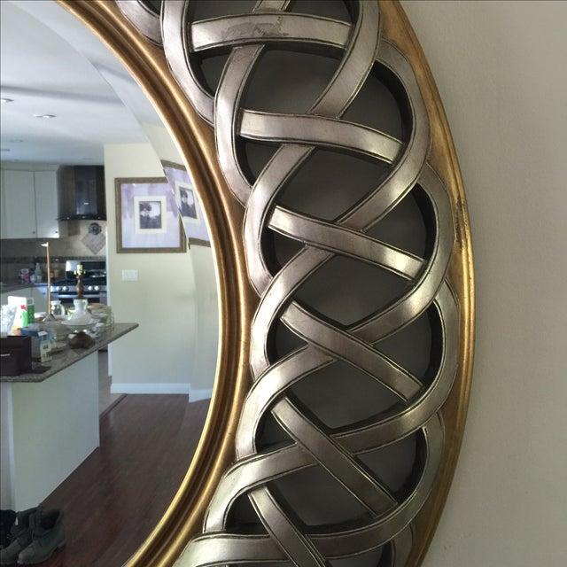 Chinese Round Decorative Mirror - Image 3 of 8
