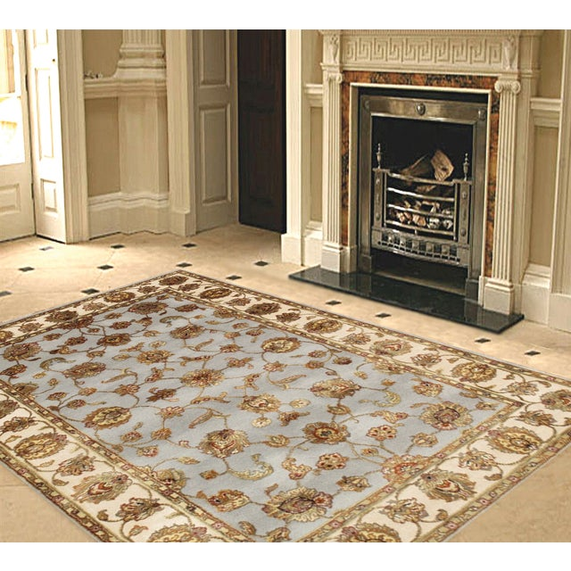 """Pasargad Agra Collection Rug - 8' X 9'10"""" - Image 2 of 3"""
