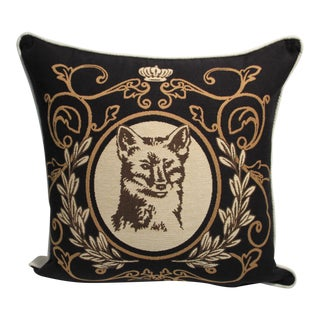 Fox Tapestry Pillow Cover For Sale