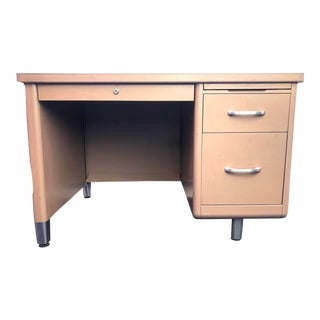 20th Century Industrial Compact Tanker Desk For Sale