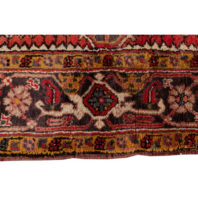 """Vintage Persian Rug, 6'5"""" X 8'9"""" For Sale In New York - Image 6 of 9"""