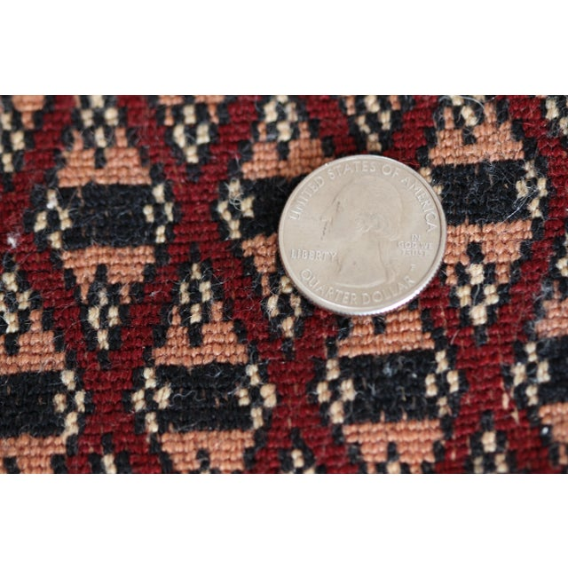 Pakistan Bokhara Hand-Knotted Runner - 2′8″ × 20′ - Image 3 of 7