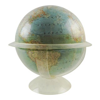 Vintage National Geographic Globe & Stand 1961