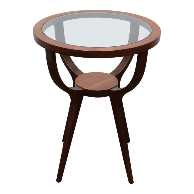 Jlindrich Halabala Style Side Table For Sale